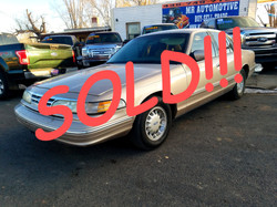 SOLD!!! 1997 FORD CROWN VICTORIA