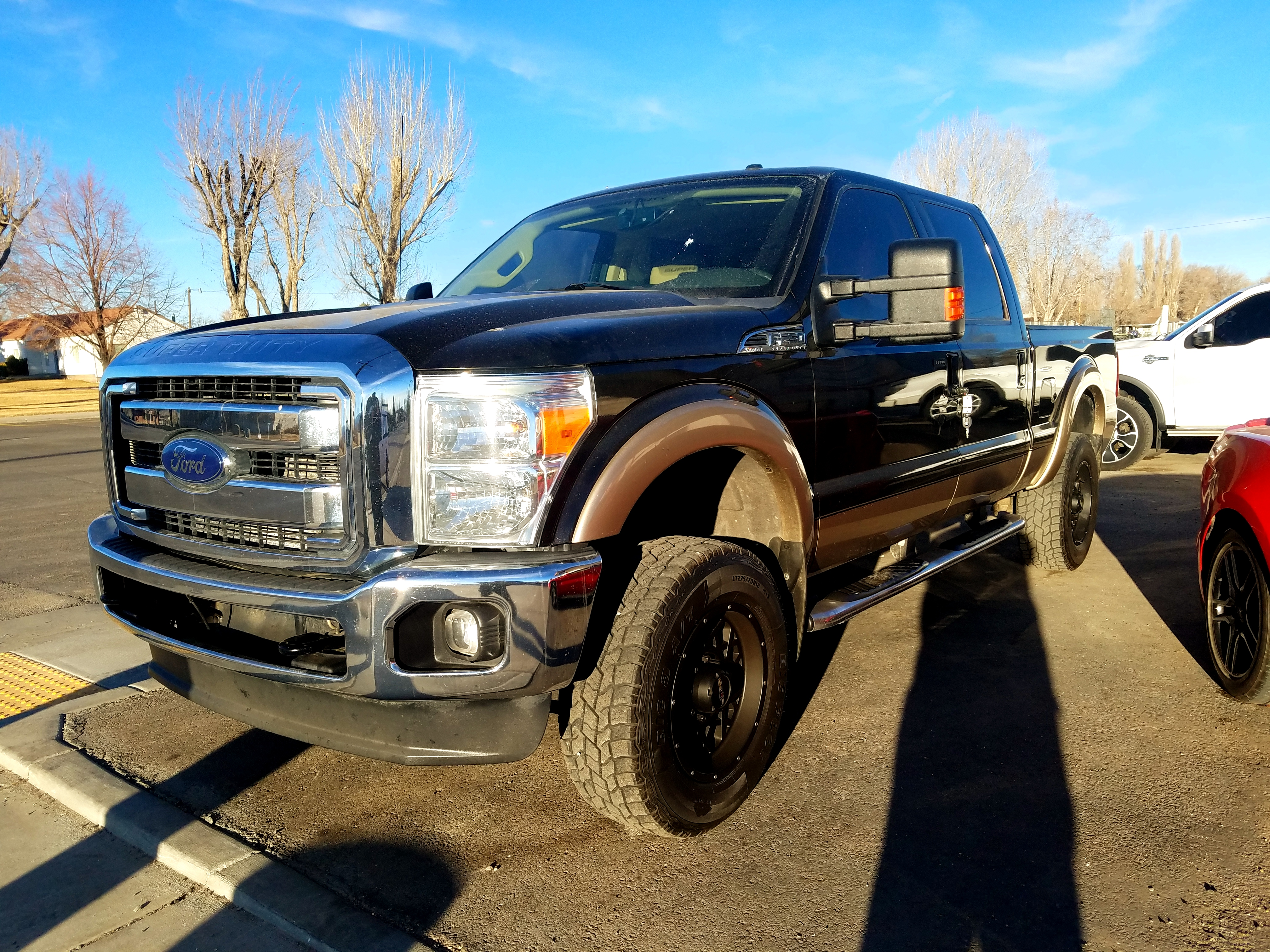 2013 FORD F250 POWERSTROKE  $31,500