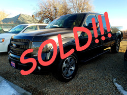 SOLD!!! 2014 FORD F150 FX4