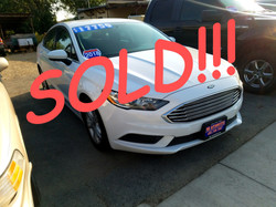 SOLD!!! 2018 FORD FUSION HYBRID