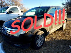 SOLD!!! 2007 FORD EDGE