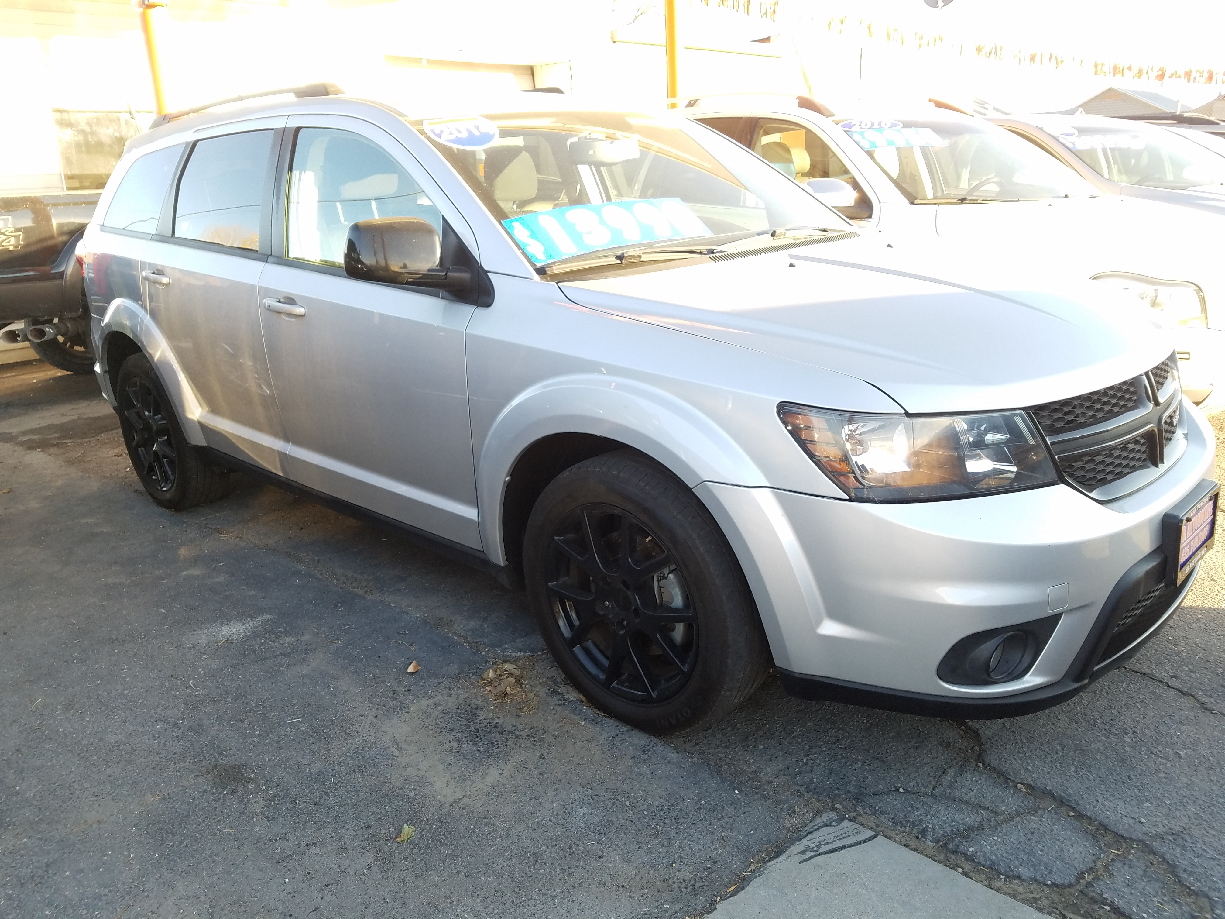 2014 DODGE JOURNEY AWD  $13,900
