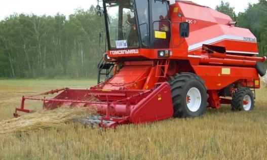Подборщик зерновой
