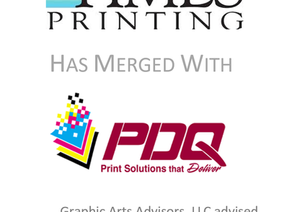 PDQ Print Center Merges with Times Printing