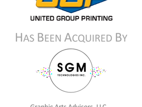 SGM Technologies Acquires United Group Printing