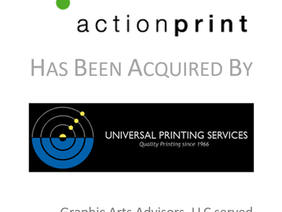 GAA Advises Action Print on Merger with Universal Printing