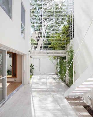 casa cinco patios