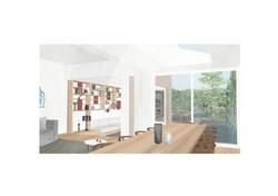 SE -  COMEDOR 03 - Lajas y sillon madera