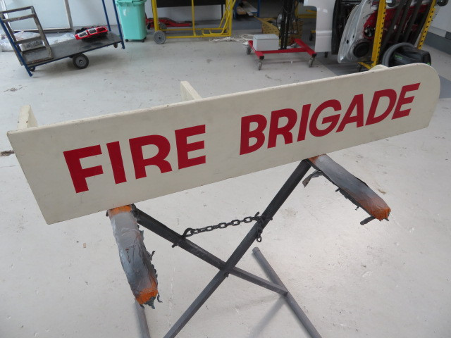 Firestation Sign