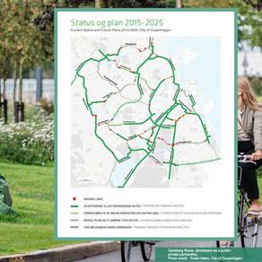 Зелените велосипедни маршрути на Копенхаген
