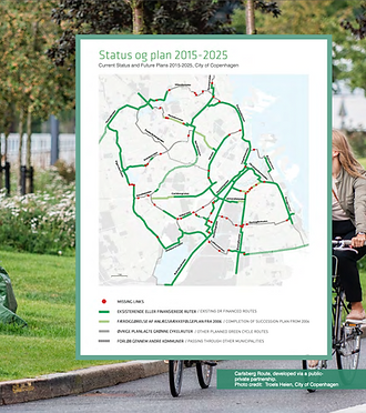 Green cycle routes