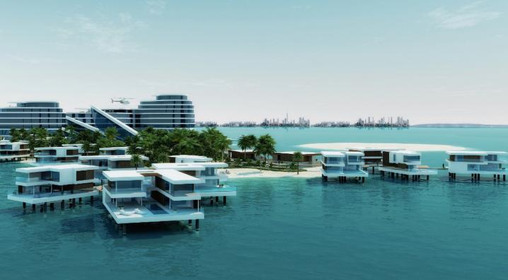 Capital Raise: Great Britain Island Floating Hotel Resort  - Dubai