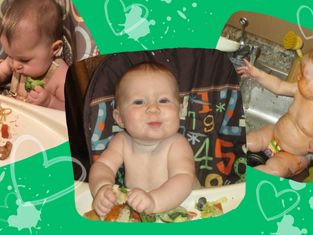 How I helped my baby transition to solid food