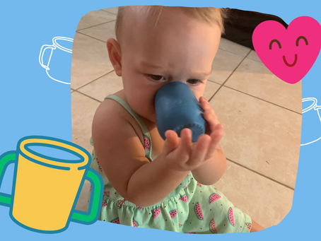 How I Taught My Child to Drink From a Cup
