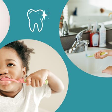 Self Dental Care (With Mom's Help)
