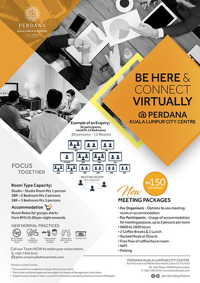 BE HERE  CONNECT VIRTUALLY_PKLCC Meeting