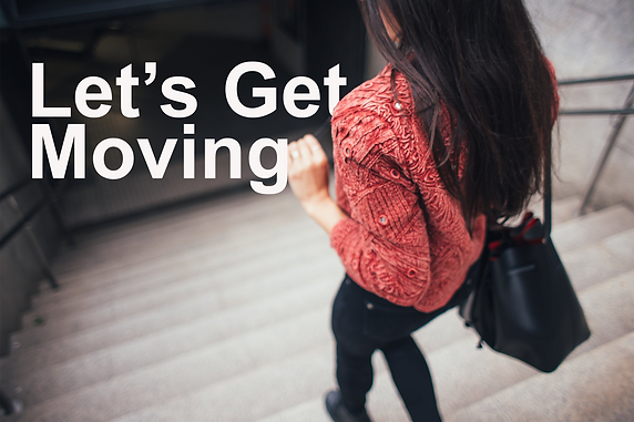 Let's Get Moving: Up & Down