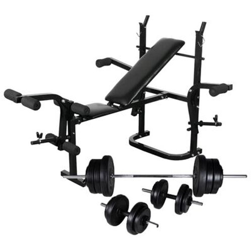 Weight Bench Inc Bars & Weights