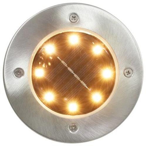 8 x Solar Ground Lights