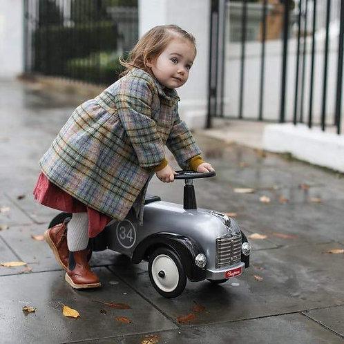 Personalised Vintage-Style Ride-On Car 2-3 Years