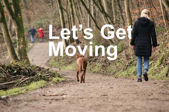 Let's Get Moving: Walking