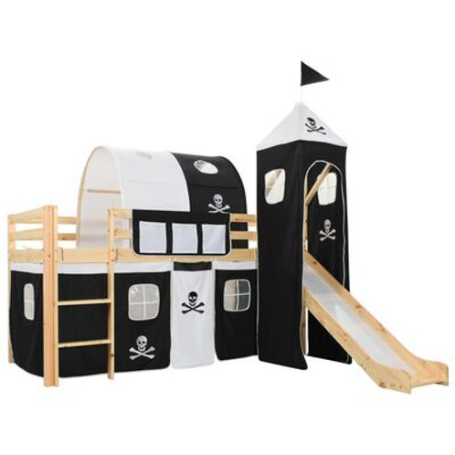 Pirate Bed With Slide & Ladder