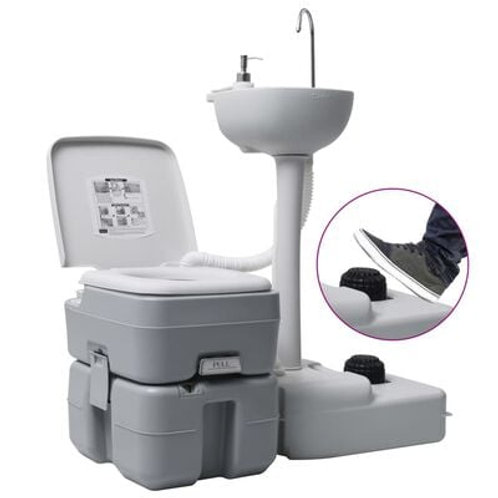 Camping Toilet & Sink