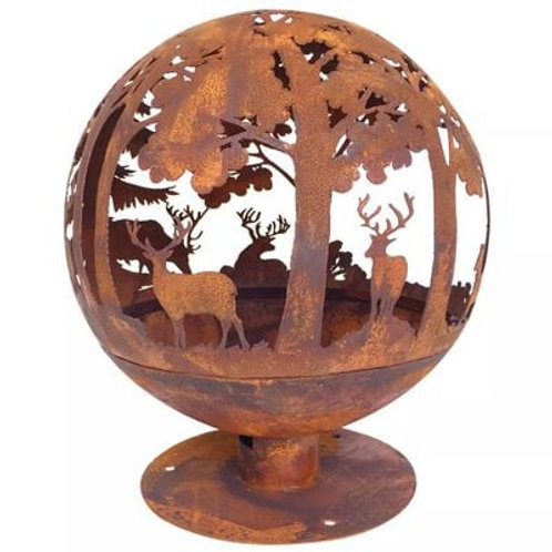 Sphere Fire Pit - Woodland