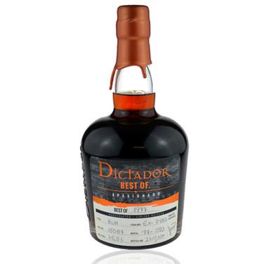 Dictador Best of 1977 Rum