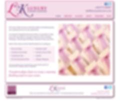 LK Luxury Chair Covers Website