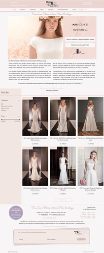 May & Grace Bridal Boutique Haslemere HP.jpg