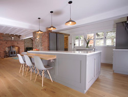 Contemporary Kitchen Living4