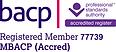 BACP Registered Member 77739