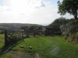 View from Bert's Cottage