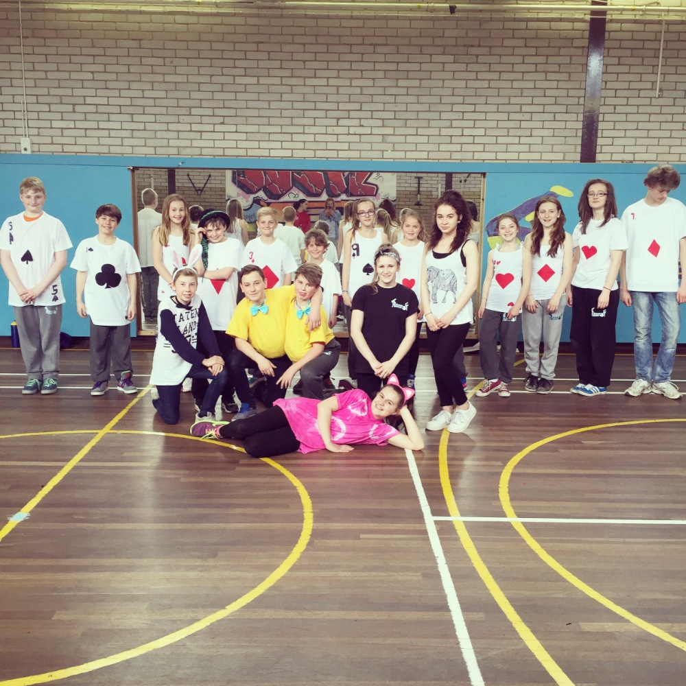 Easter Hip Hop Camp (Alice in Wonderland 2015) 3