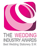 Archibald Edwards Won Best Wedding Stationery in The South West at The Wedding Industry Awards 2013