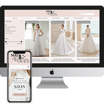 May & Grace Bridal Boutique | Haslemere