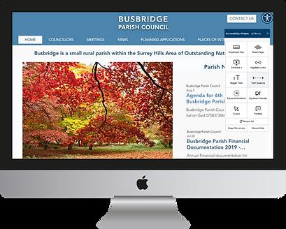 Busbridge Parish Council Homepage - mac.