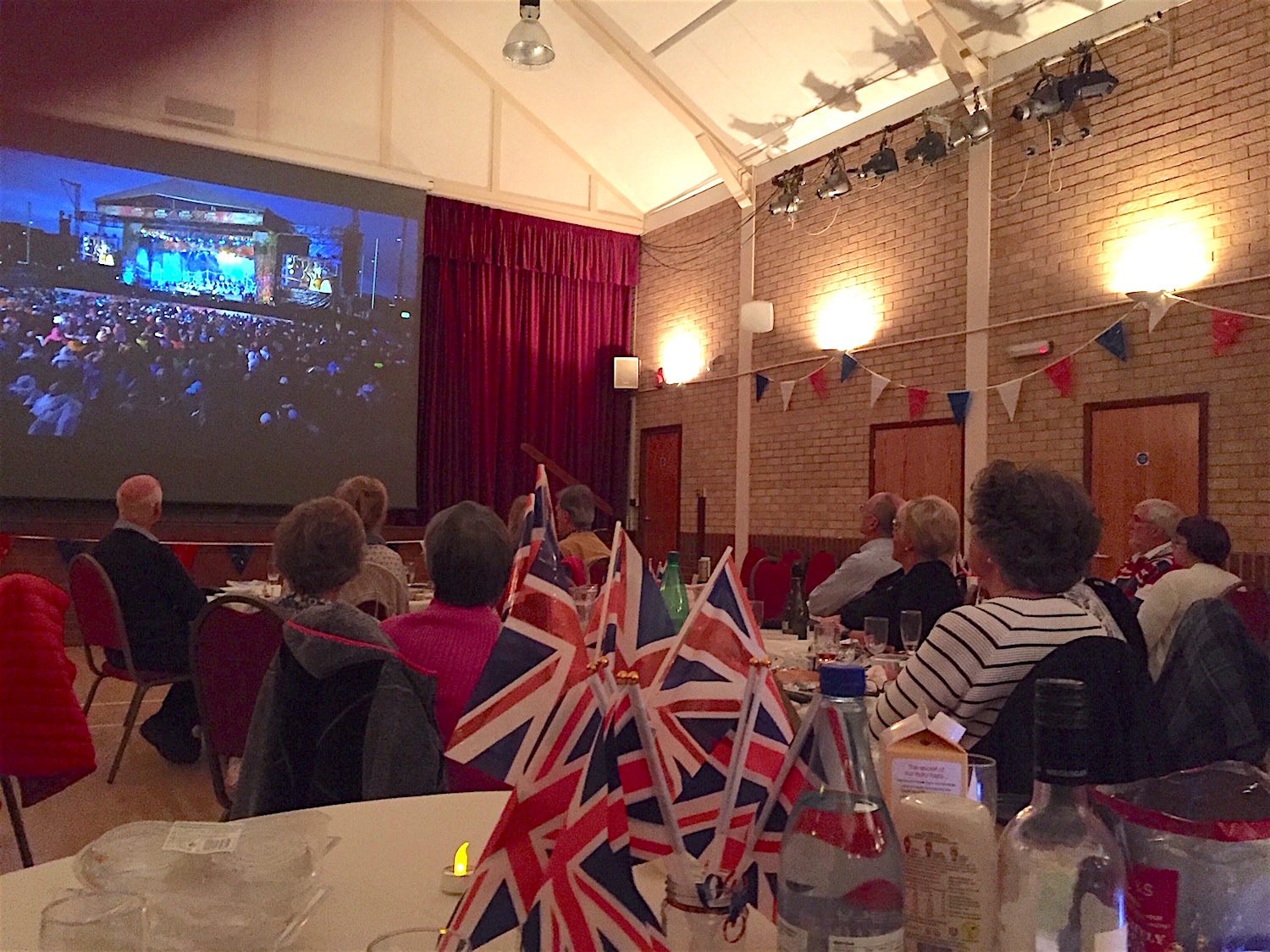 Last night at the Proms Chiddingfold Vil