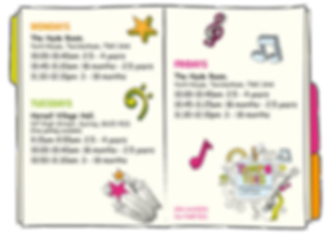 Class Timetable | Tempo Tots | Surrey