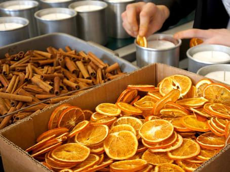 Zesty Orange or Sweet Cinnamon?