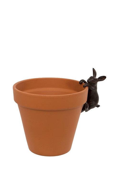 Hare Animal Pot Hanger