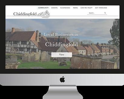 Chiddingfold Directory Website Design