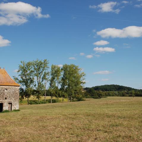 Maison Beaumie's beautiful scenery…