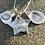 Thumbnail: Star Fingerprint Handmade Silver Charm