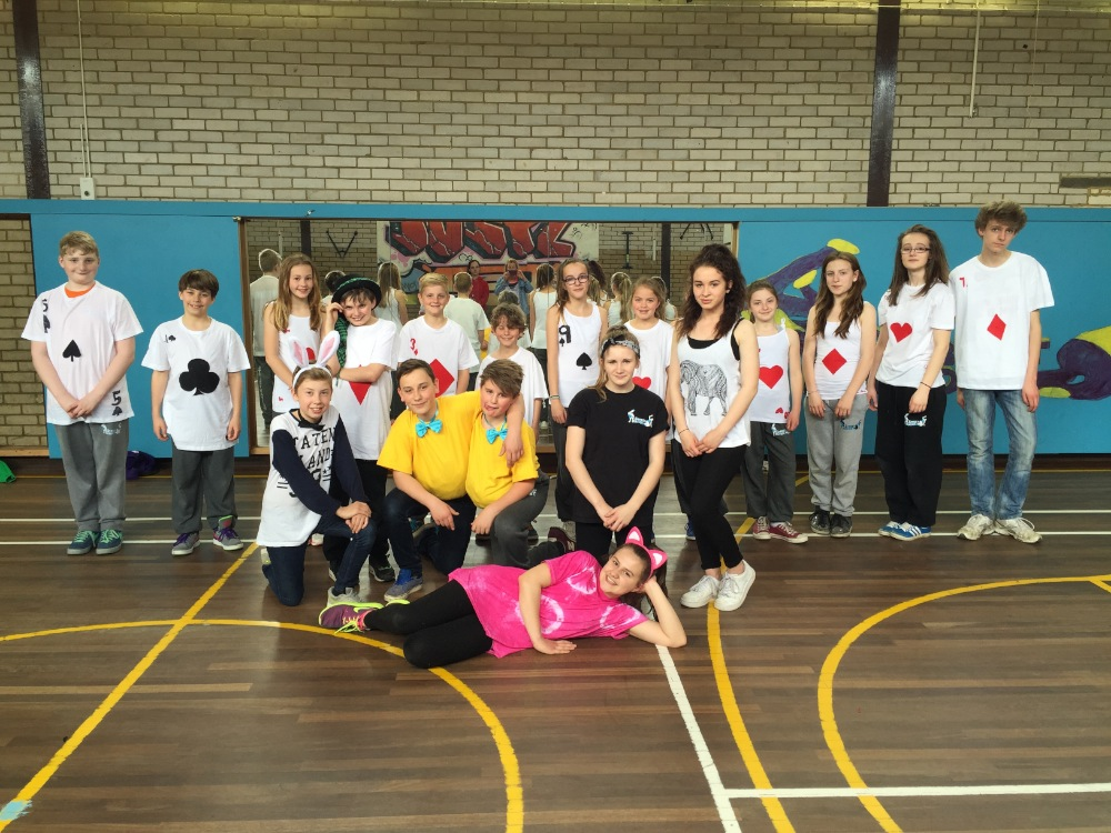 Easter Hip Hop Camp (Alice in Wonderland 2015) 2