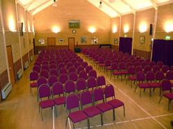 Chiddingfold Villge Hall Seating