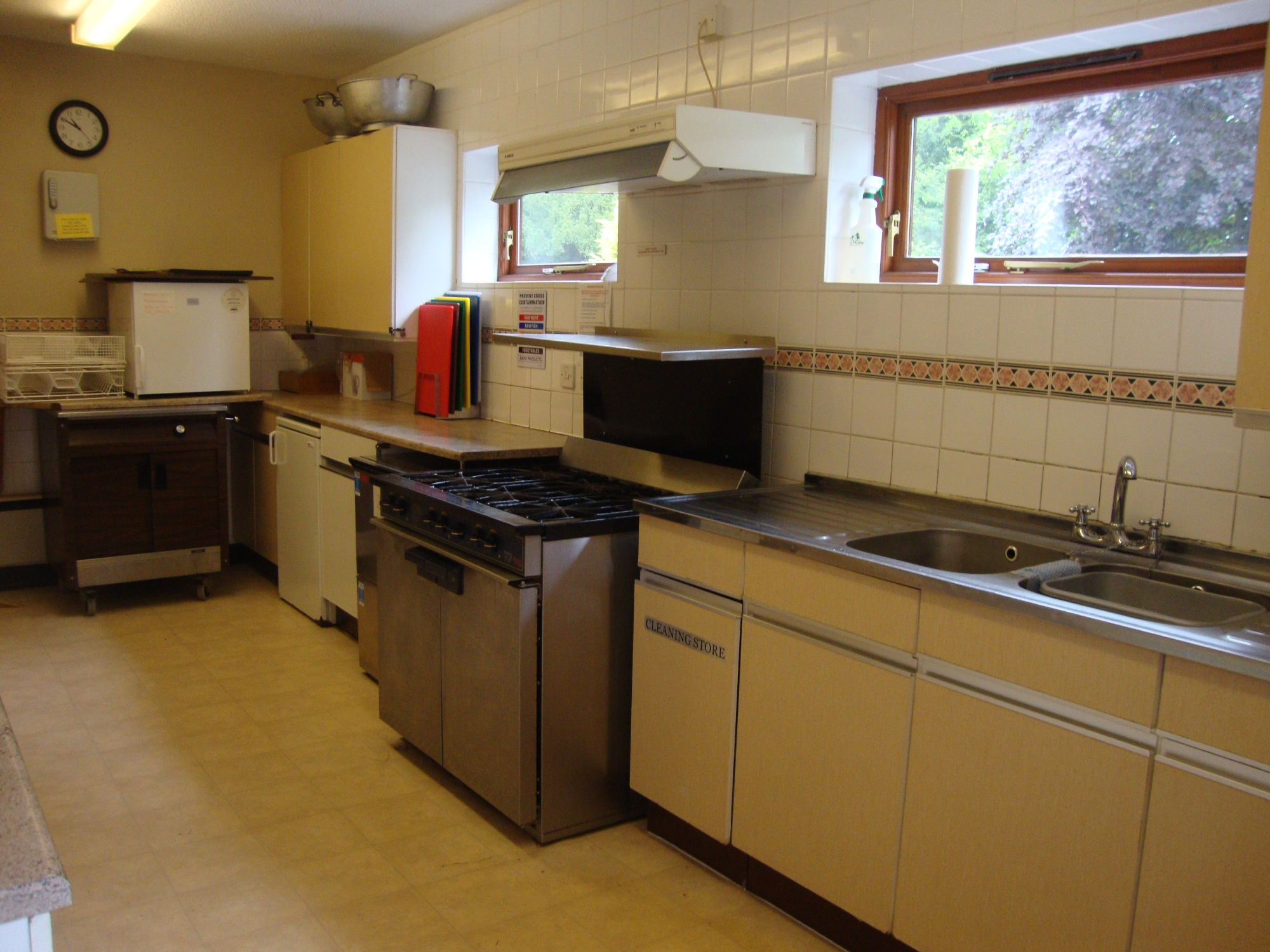 Village Hall Kitchen Facilities