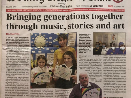Bringing Generations Together Through Music, Stories and Art