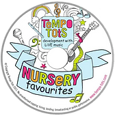 Tempo Tots Music CD | Only £7.99